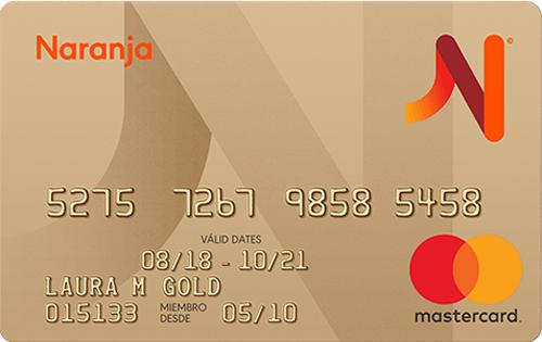Naranja Mastercard