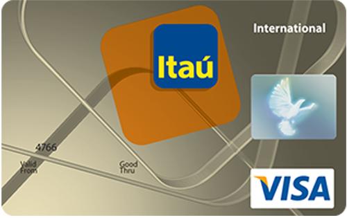 Visa Internacional Banco Itaú