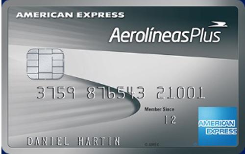 Platinum Credit Card Aerolíneas Plus American Express